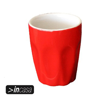 Latte Cup 220ml (Red)