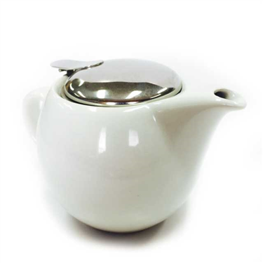 White Porcelain Tea Pot 400ml