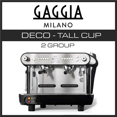 GAGGIA DECO 2 GROUP TALL CUP